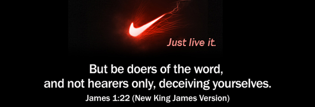 Image result for james 1:22""