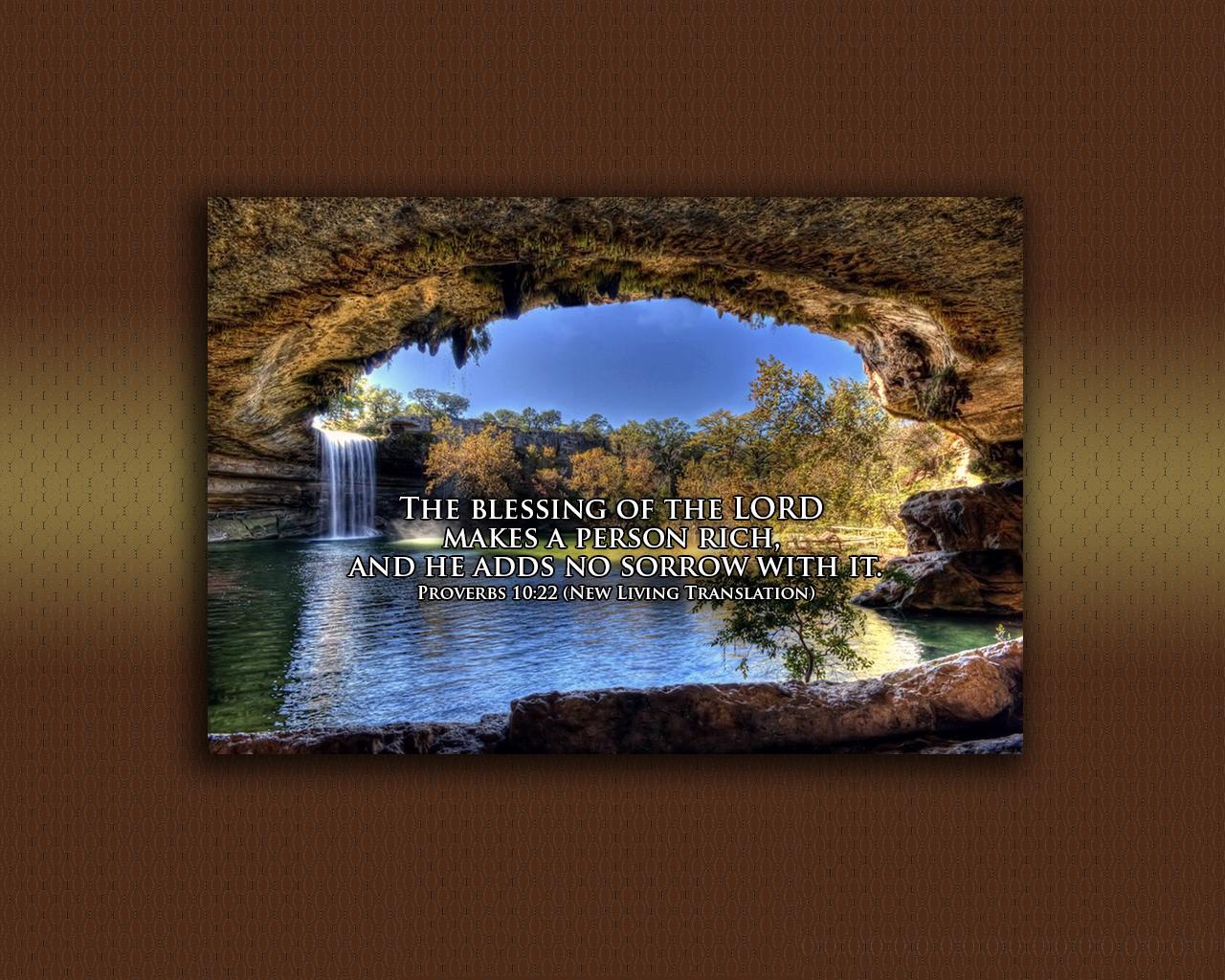 Proverbs 10:22 - The Fellowship Site